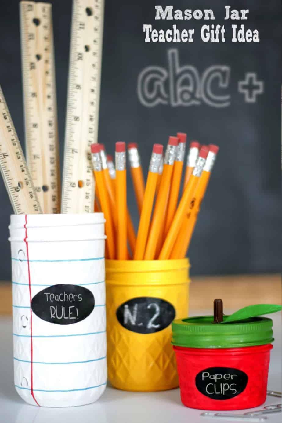 mason jar diy teacher gift idea