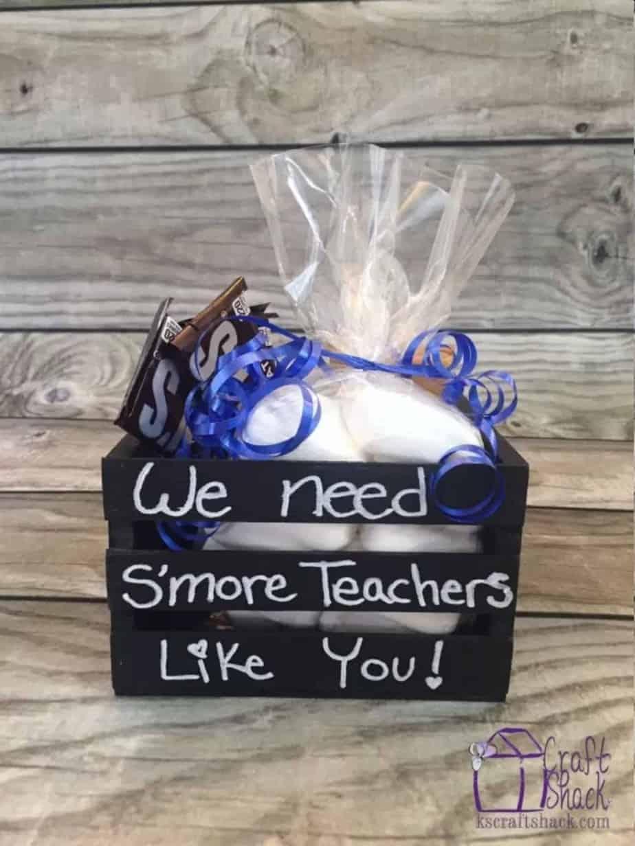 s'more teacher gift