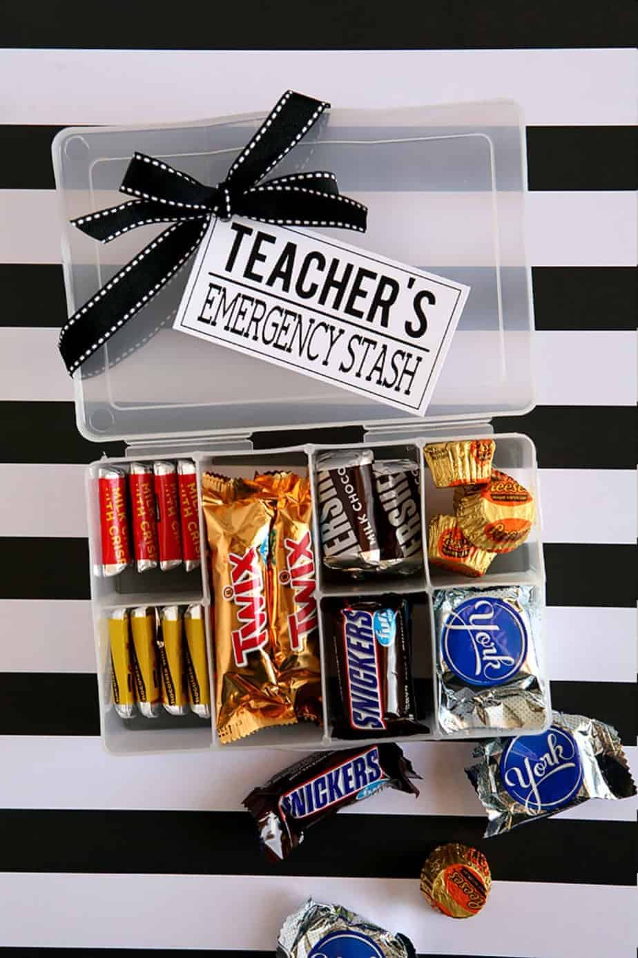 teacher emergency stash gift idea