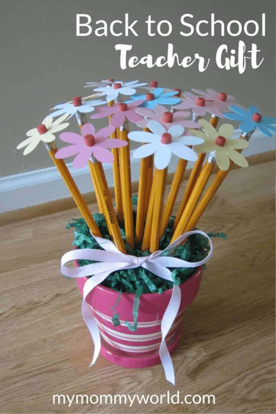 Diy flower vase craft teacher gift idea