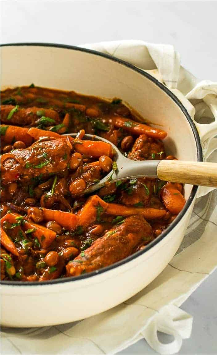 Healthy Meal Prep Idea: Vegan Sausage Casserole