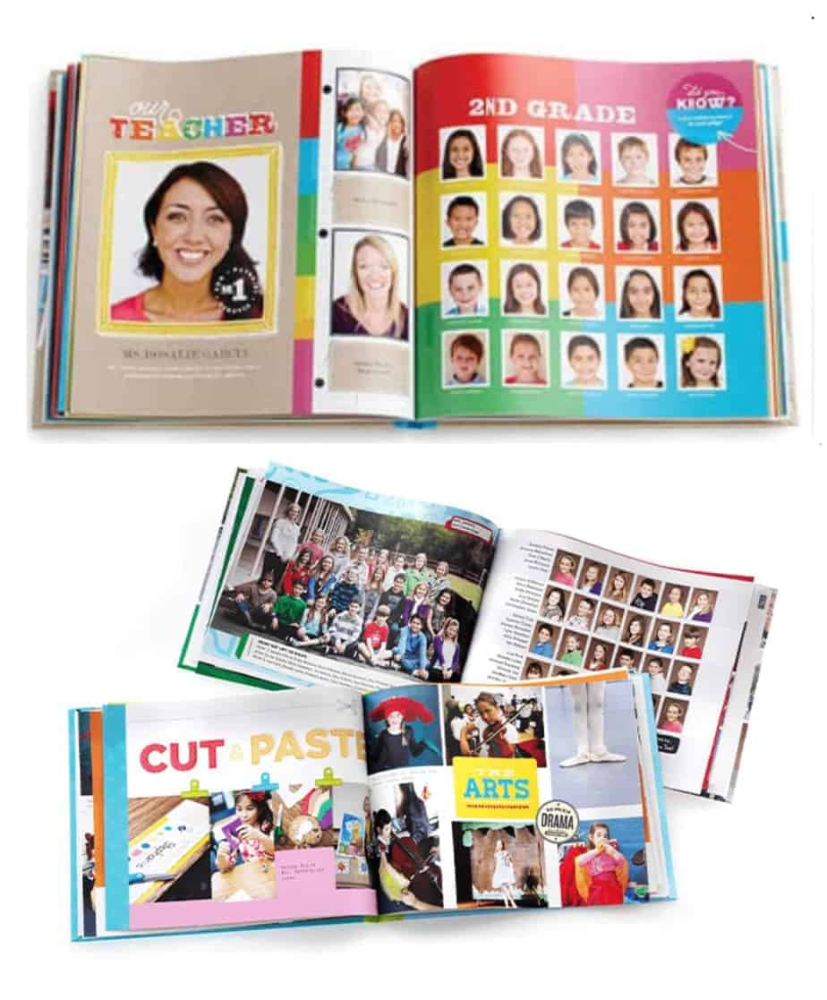 Photo book teacher gift