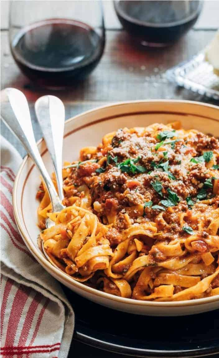 Healthy Meal Prep Idea: Instant Pot Bolognese