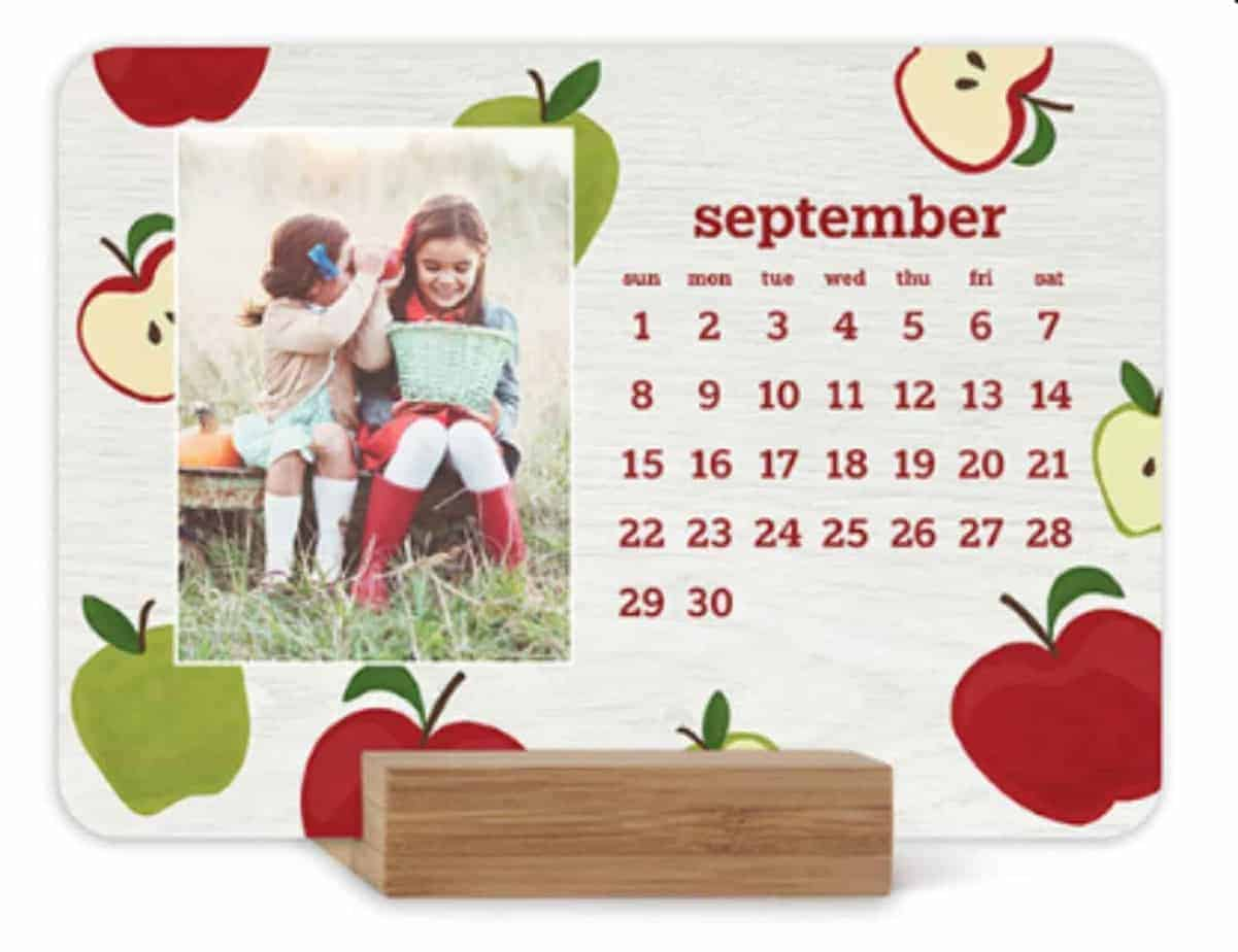 easel desk calendar teacher gifts