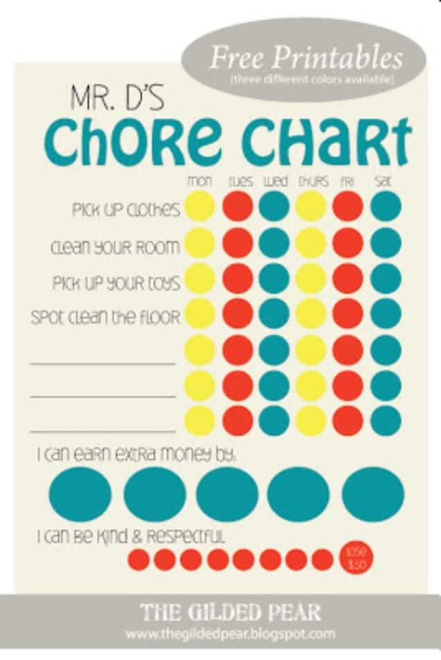 Free Printable Chart