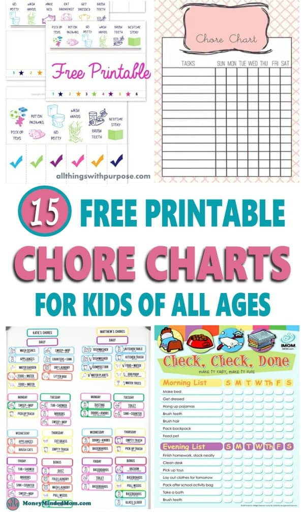 It is a photo of Gutsy Free Printable Chore Charts