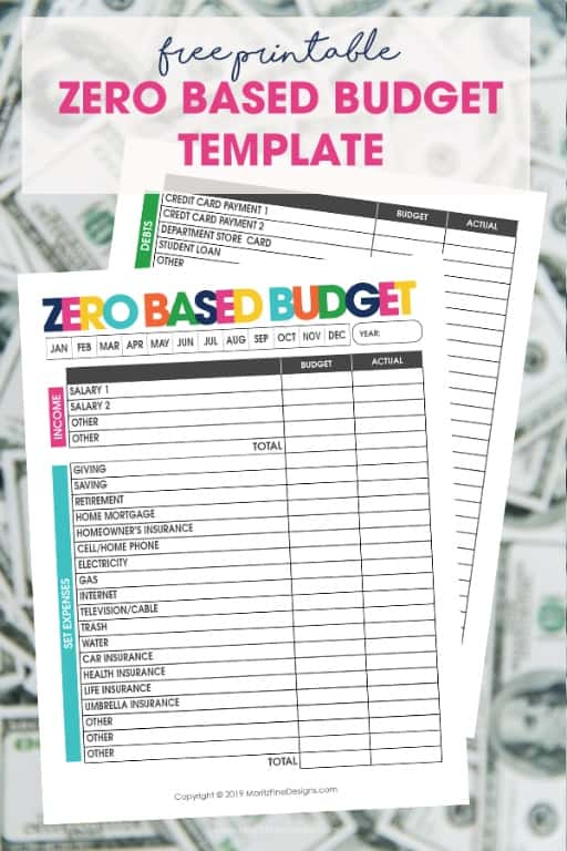 picture regarding Free Printable Personal Budget Template referred to as Funds Planner: 15+ Absolutely free Printable Every month Spending plan Planner