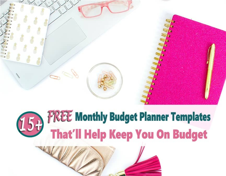 graphic about Printable Budget Template called Finances Planner: 15+ Free of charge Printable Month to month Spending budget Planner