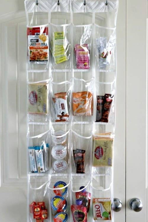 Snack Center to organize a pantry