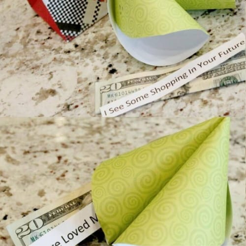 Fortune Cookie Money Gift Idea