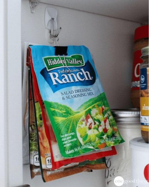 Organize a pantry