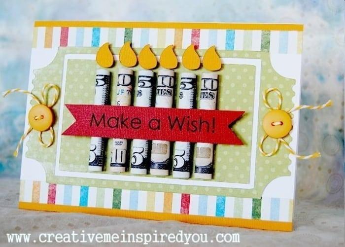 Make a Wish Money Gift Idea