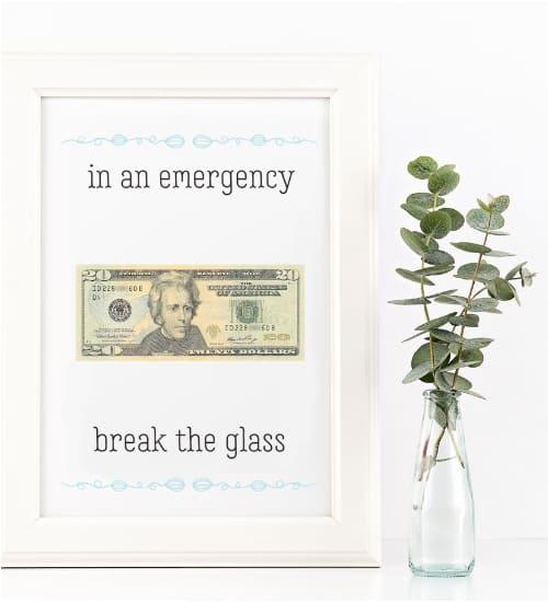 In Case Of Emergency Money
