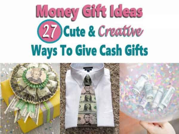 Money Gift Ideas