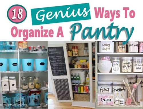 Organize a Pantry in 10 Easy Steps + 18 Creative Pantry Storage Ideas