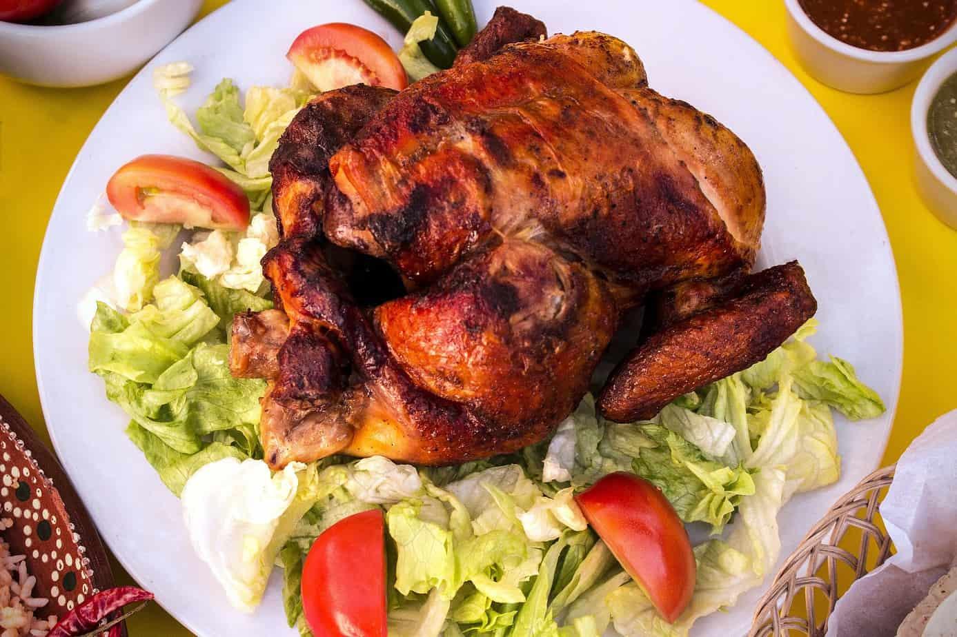 Leftover chicken