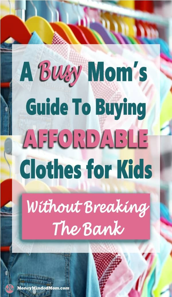 Affordable Clothes for Kids