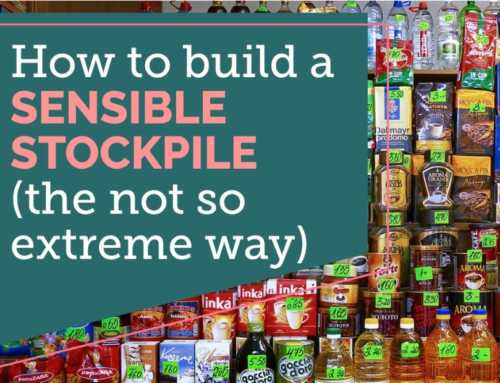 Saving Money With a Sensible Stockpile