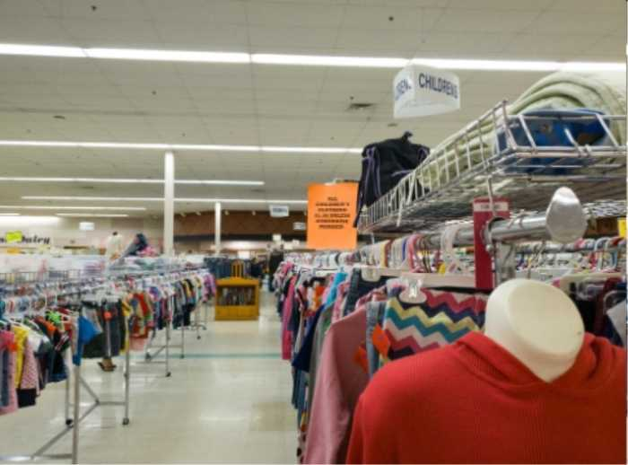 Consignment shop with affordable clothes for kids