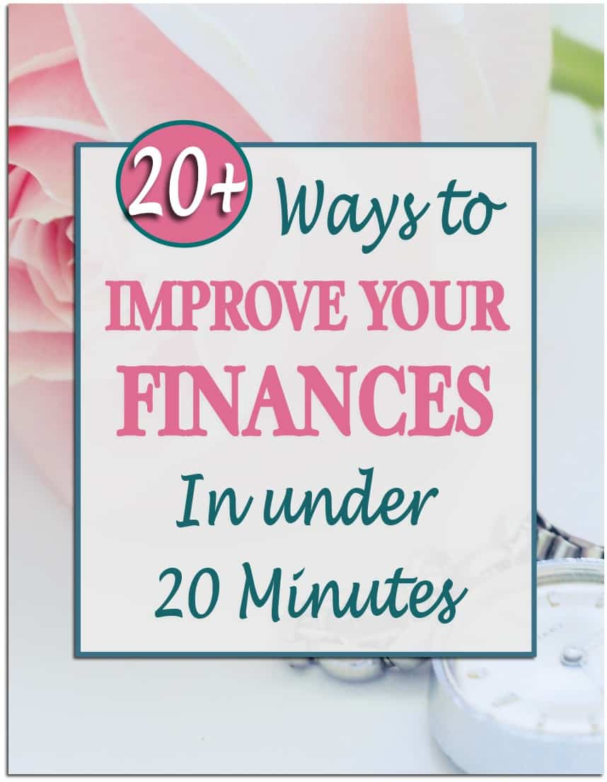Improve Finances