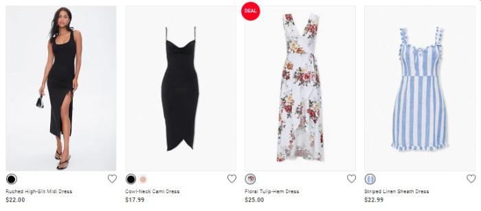 Shop Forever 21 for beautiful woman's fashion clothing at affordable prices