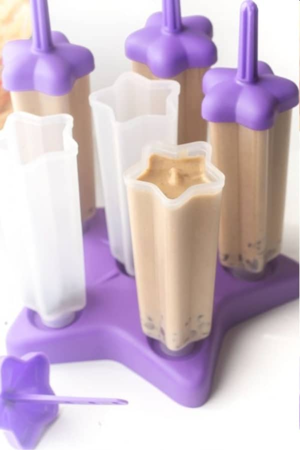 Peanut Butter Banana Popsicle