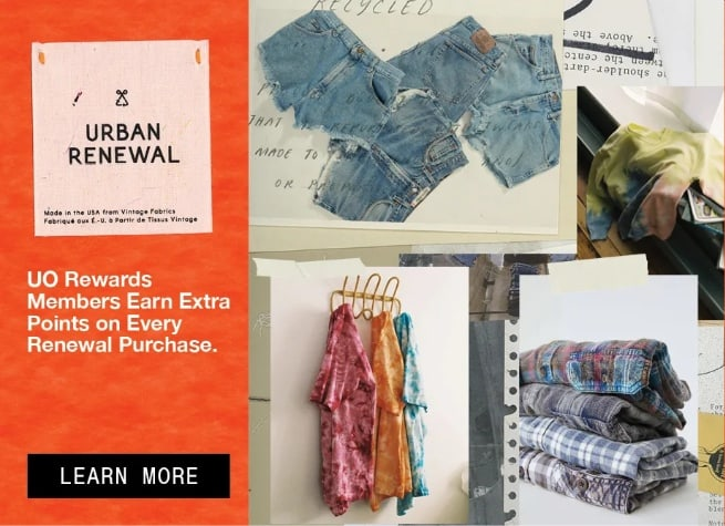 Urban Outfitters Renewal Second Hand Vintage Clothes