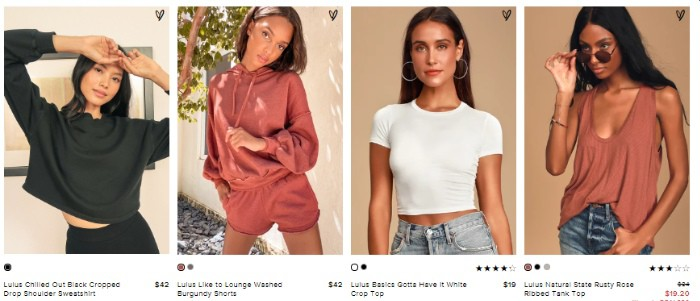 Affordable online boutique showcasing casual wear - Lulus