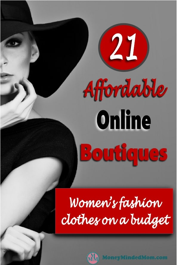 Affordable Online Boutiques