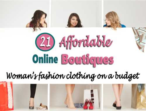 Affordable Online Boutiques:  21 Places To Get Woman's Clothes for Cheap