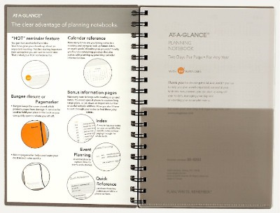 At A Glance Daily Planner
