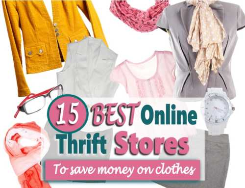 15 Best Online Thrift Stores To Buy Vintage and Second Hand Clothes