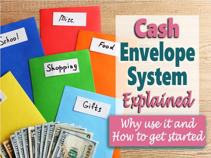 Envelopes for budgeting