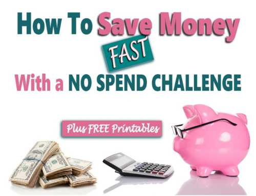 No Spend Challenge: A Simple Way To Save Money Fast