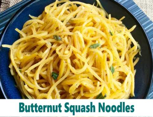 Savory Butternut Squash Noodles