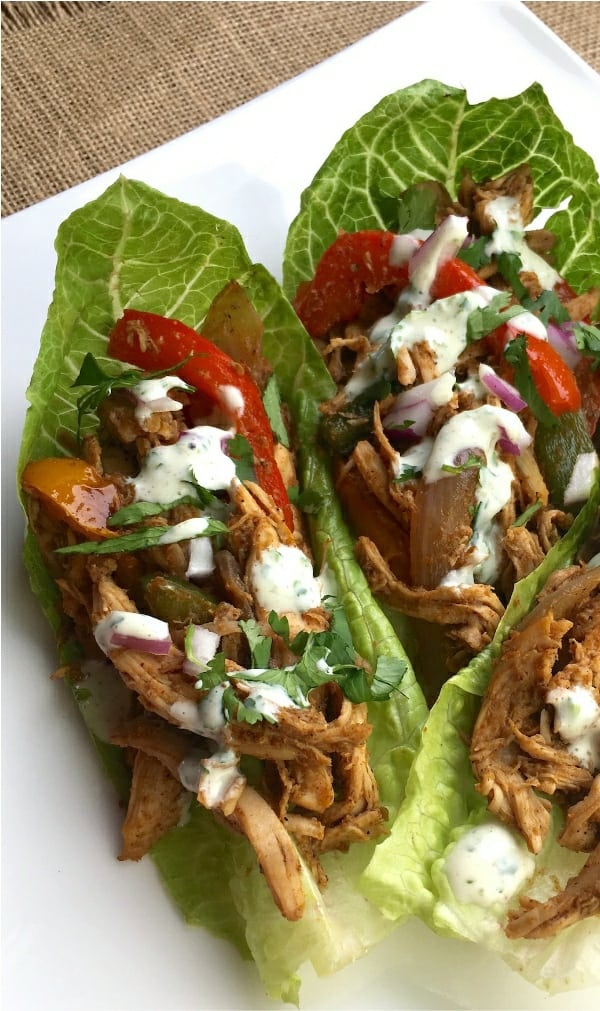 Chicken Fajita Wrap Recipe