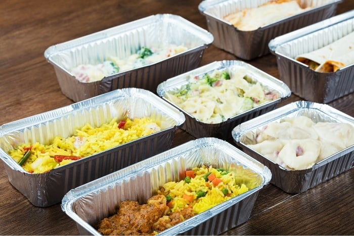 Casserole freezer meal prep