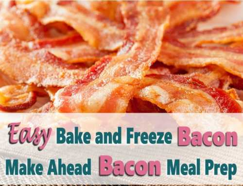 Make Ahead Bacon | Easiest Way To Batch Cook & Freeze Bacon