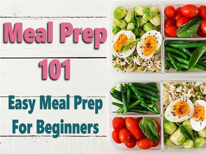 meal prep 101