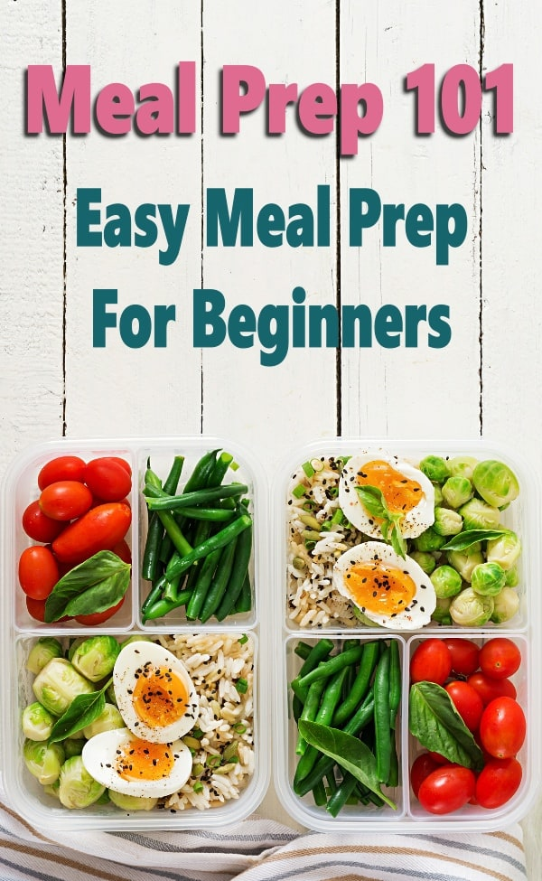 Meal prep for beginners