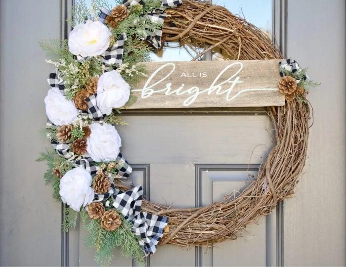 DIY Front Door Wreaths