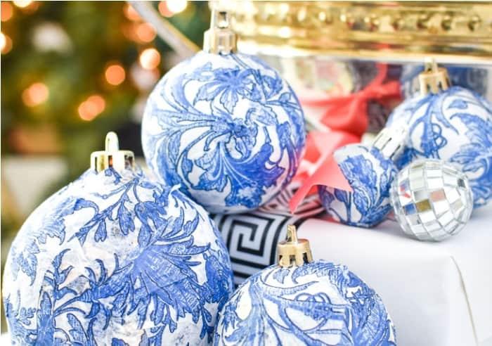 DIY Holiday Ornaments and Decor