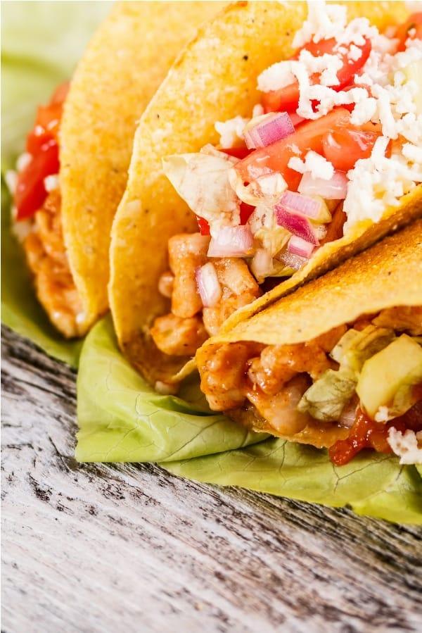 Quick Chicken Tacos