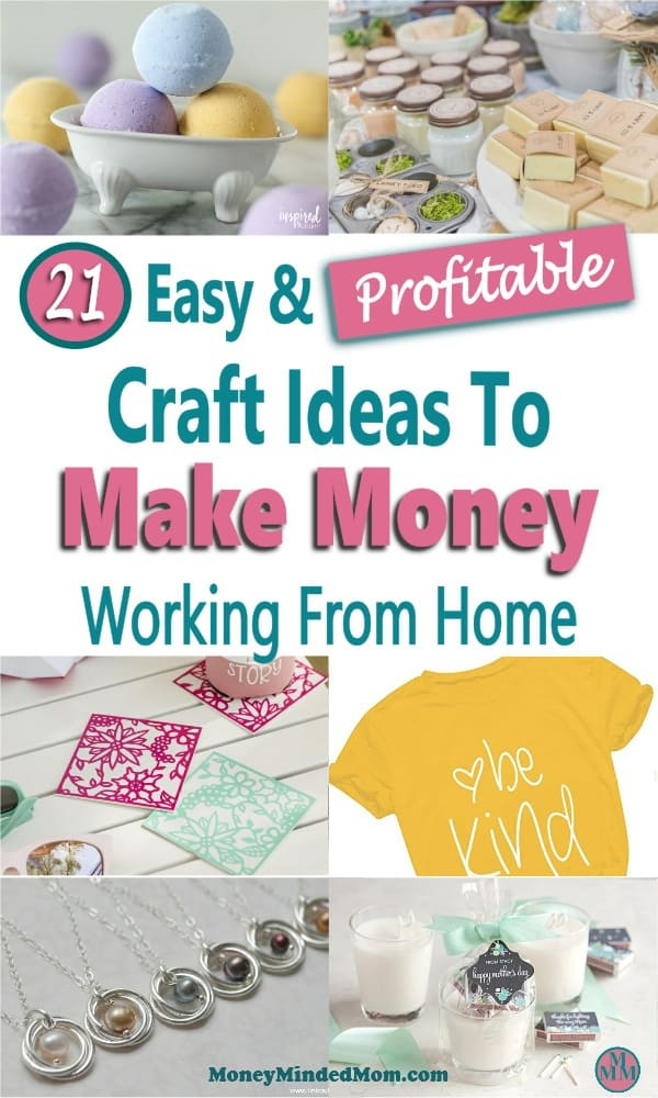 Make money from home selling crafts