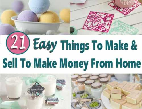 21 Easy Things to Make and Sell for Money
