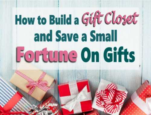 Build A Gift Closet To Save Money On Gifts All Year Long