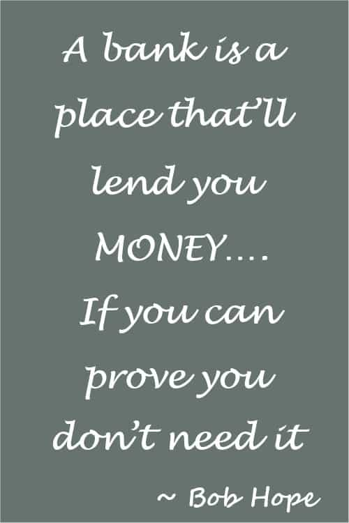 Funny money quote