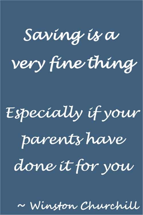 Saving money funny quote