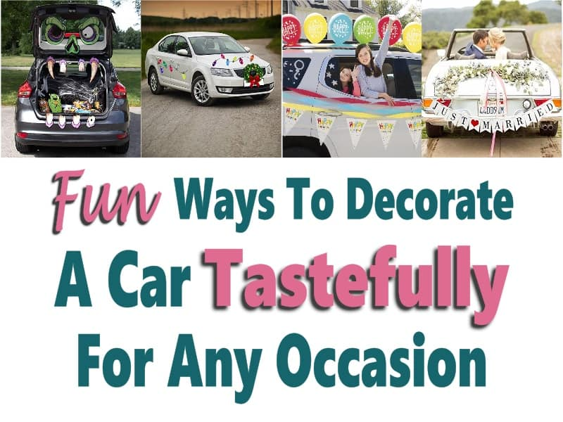 Ways to decorate a car