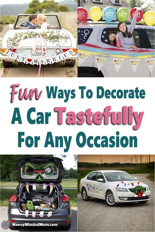 How to Decorate a Car For Any Occasion